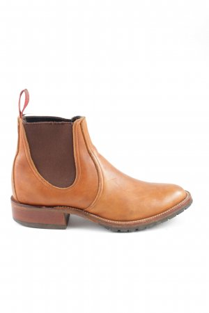 Red Wing Shoes Chelsea Boots hellorange-braun Business-Look