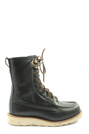 Red Wing Shoes Chukka boot noir style décontracté