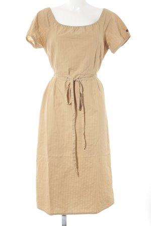 redgreen Midikleid beige-camel Boho-Look