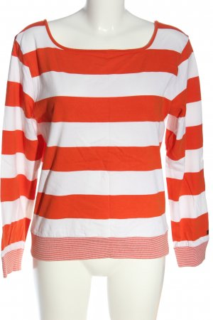 redgreen Stripe Shirt white-red striped pattern casual look