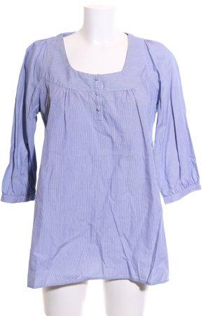 redgreen Schlupf-Bluse lila-weiß Streifenmuster Casual-Look