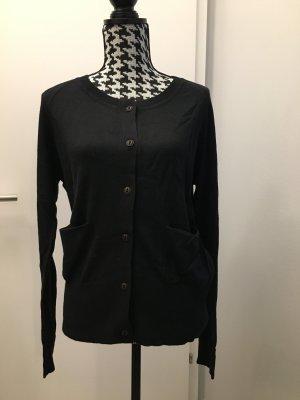 REDGREEN Weste mit 2 Taschen und Knöpfen, schwarz, Gr. XL, 44, Neu mit Etikett