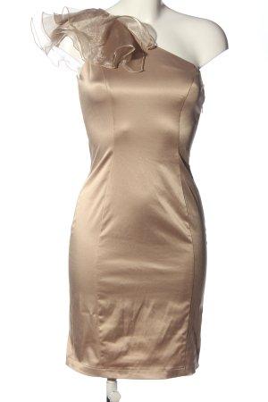 REDHERRING Robe asymétrique doré élégant