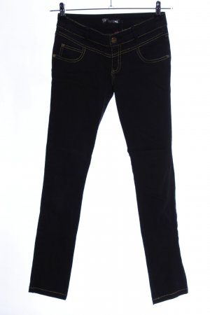 Redial Low-Rise Trousers black casual look