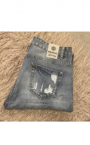 REDIAL Jeanshose im Ripped Look