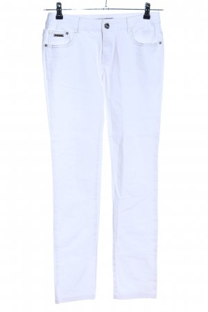 Redial Luxury Stretch Jeans weiß Casual-Look