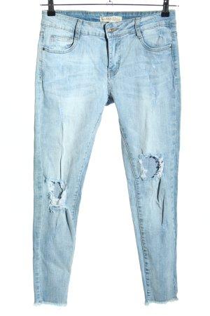Redial Skinny Jeans blau Casual-Look