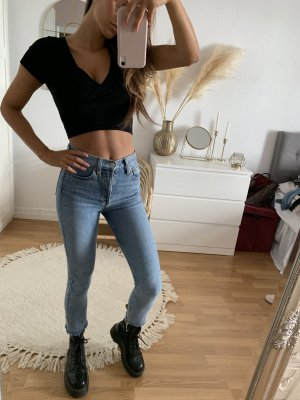 Re/done Levi's Hoge taille broek azuur-korenblauw