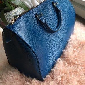 REDUZIERT: Louis Vuitton  Speedy 35 Henkeltasche Toledoblau