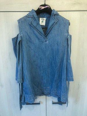 SJYP Blouse en jean multicolore coton
