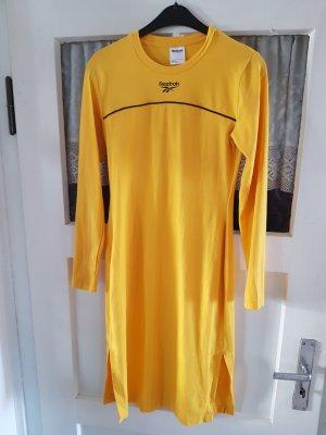 Reebok Vestido de manga larga amarillo-naranja dorado