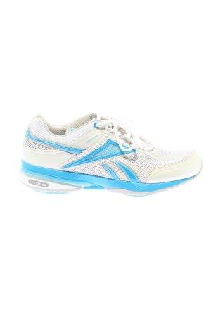 Reebok Absatz Sneaker weiß-blau Casual-Look