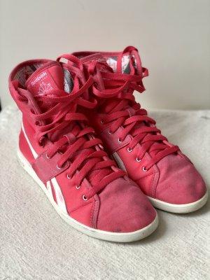 Reebok High Top Sneaker pink-bright red