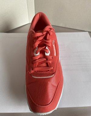 Reebok Classic Nylon Turnschuh Sneaker Sport Unisex Damen Herren pink rosa magenta knallig 43 wie NEU