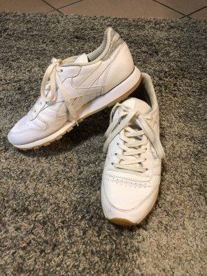 Reebok Classic Sneaker weiß Glitzer 38