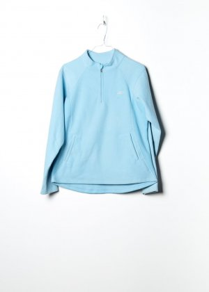 Reebok Damen Fleecepullover in Blau