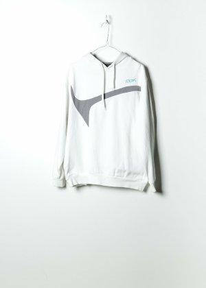 Reebok Hooded Sweater white cotton