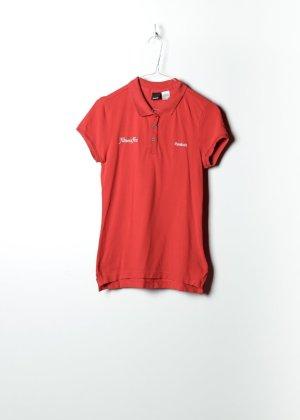 Reebok Damen Polo in Rot