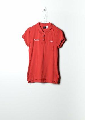 Reebok Long Sleeve Blouse red cotton