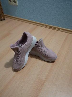 Reebok Double Leder Sneaker Absatz Plateau Wild Leder