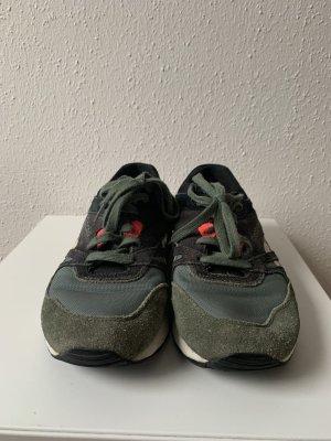 Reebok Sneakers met veters donkerblauw-khaki