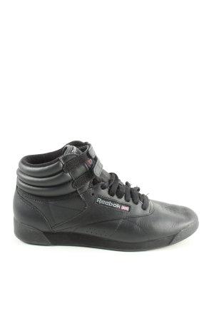 Reebok High Top Sneaker schwarz Casual-Look