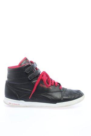 Reebok Basket montante noir style décontracté