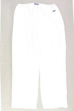Reebok Hose Größe 46 weiß aus Polyester