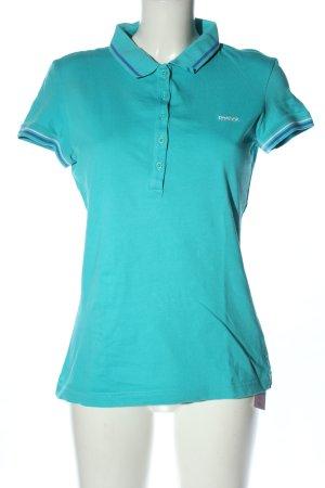 Reebok Polo-Shirt türkis Casual-Look