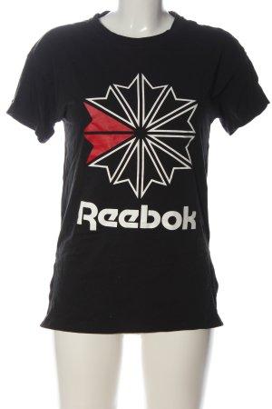 Reebok Print-Shirt Motivdruck Casual-Look