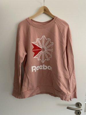 Reebok Maglione lungo rosa