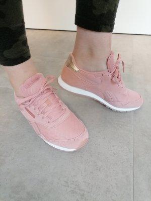 Reebok Retro Sneaker altrosa gold Leder 37.5