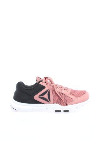 Reebok Schnürsneaker pink-schwarz Casual-Look