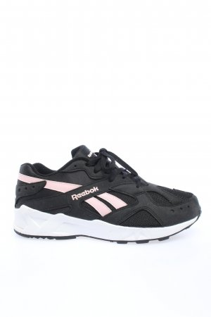 Reebok Lace-Up Sneaker black athletic style