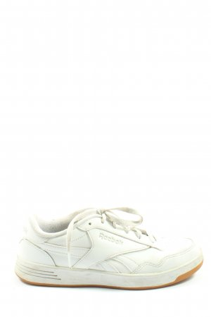 Reebok Lace-Up Sneaker white themed print casual look
