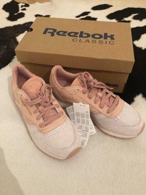 Reebok Schuhe sneaker rosa grau 37 Turnschuhe Mode Fashion neu