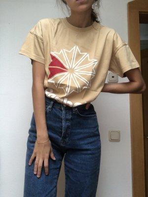 Reebok Print Shirt beige