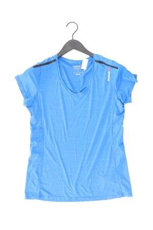 Reebok Shirt Größe L blau aus Polyamid