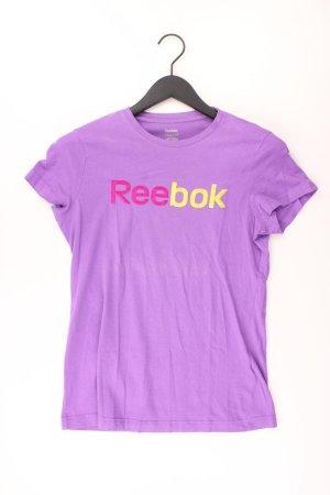 Reebok Shirt Größe M lila aus Baumwolle