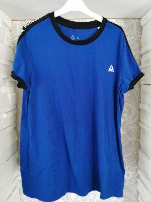 Reebok T-Shirt black-blue