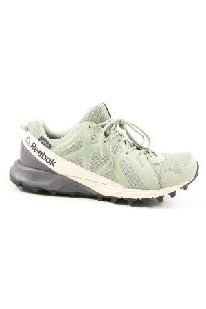 Reebok Chaussure skate kaki lettrage imprimé style décontracté