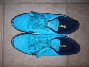 Reebok Basket à lacet bleu-turquoise