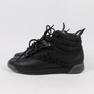 REEBOK Sneaker Gr. 37.5 schwarz, Spikes Modell: Freestyle high (20/03/134*)