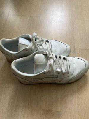 REEBOK sneaker hellblau Gr 40 Leder
