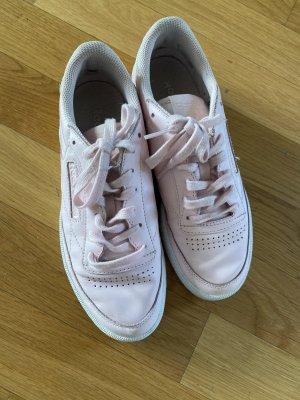 Reebok Sneaker Schuhe 37,5 Leder rosa