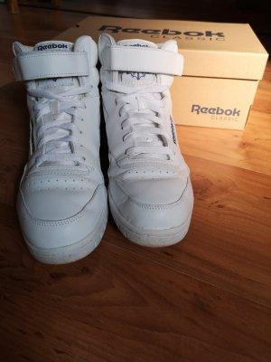 Reebok High top sneaker wit-donkerblauw