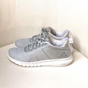 Reebok Slip-on Sneakers light grey-white mixture fibre