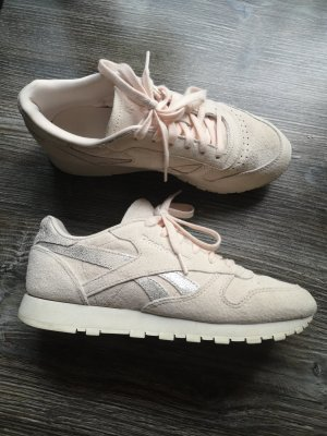 Reebok Sneaker Turnschuhe 38 rosa Rose Silber