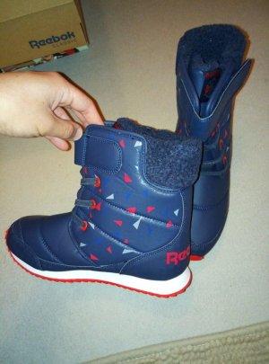 reebok snow boots blau/weiß *neu* *neu*