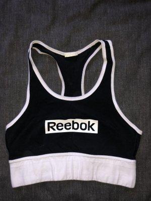 Reebok Sporttop zwart-wit